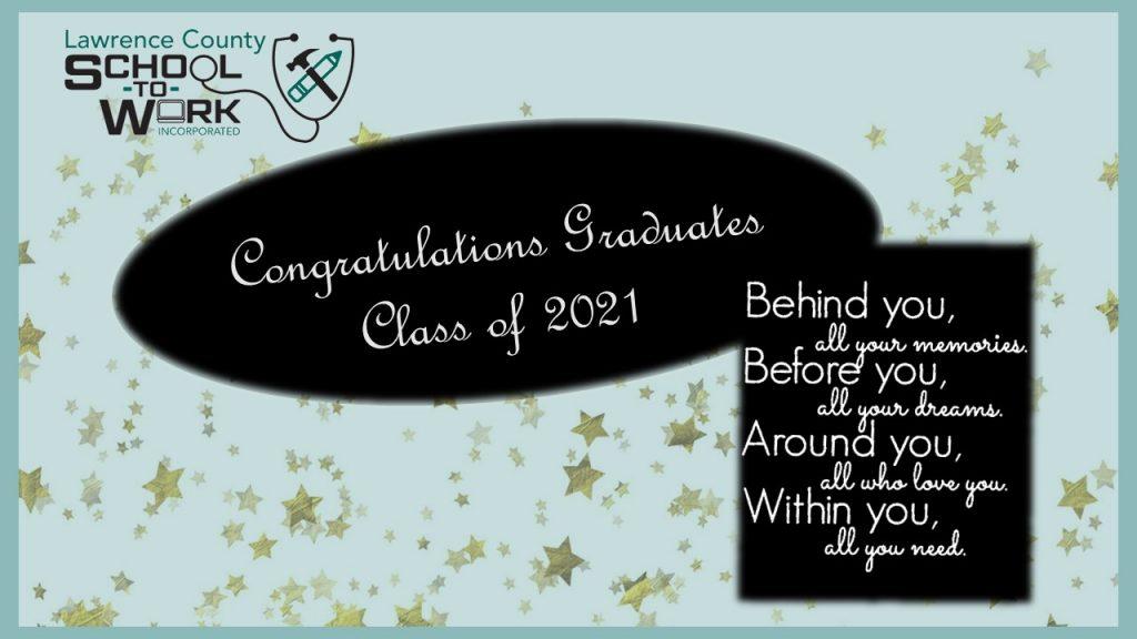 2021 – Congratulates Class of 2021